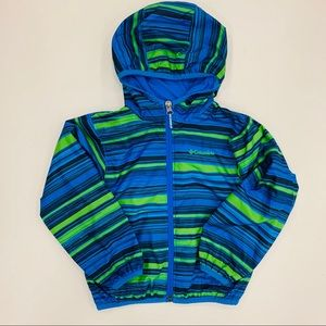 Boys Columbia 4t Lined Rain Jacket